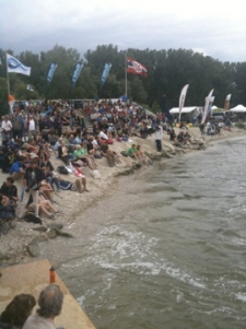 World Championships Freestyle in Plattling - just before the storm