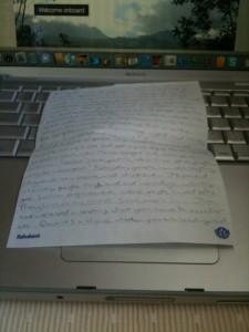 Blog post on paper