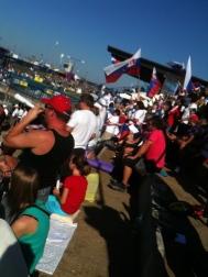 Fans at Cunovo