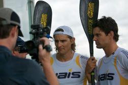 Phillips & Bird at 2012 NSW State Championships - Canoe Sprint