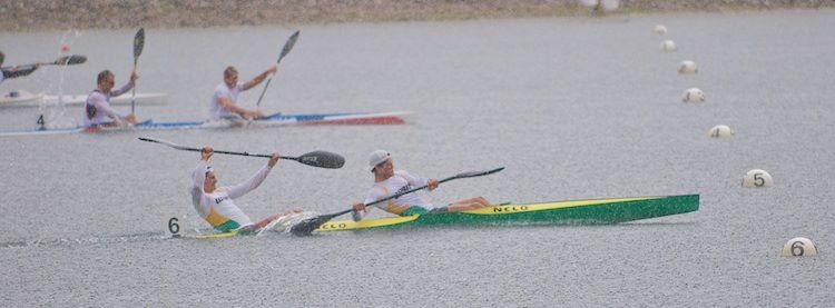 K2 200m Final - 2012 NSW State Championships - Canoe Sprint