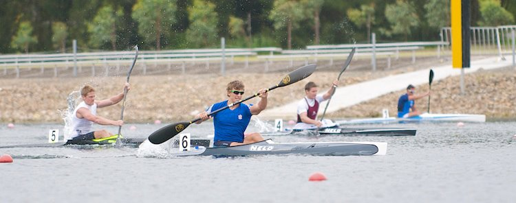 Murray Stewart at 2012 NSW State Championships - Canoe Sprint